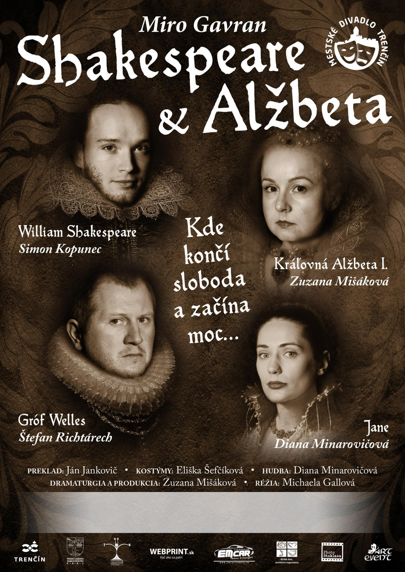 Miro Gavran: Shakespeare a Alžbeta