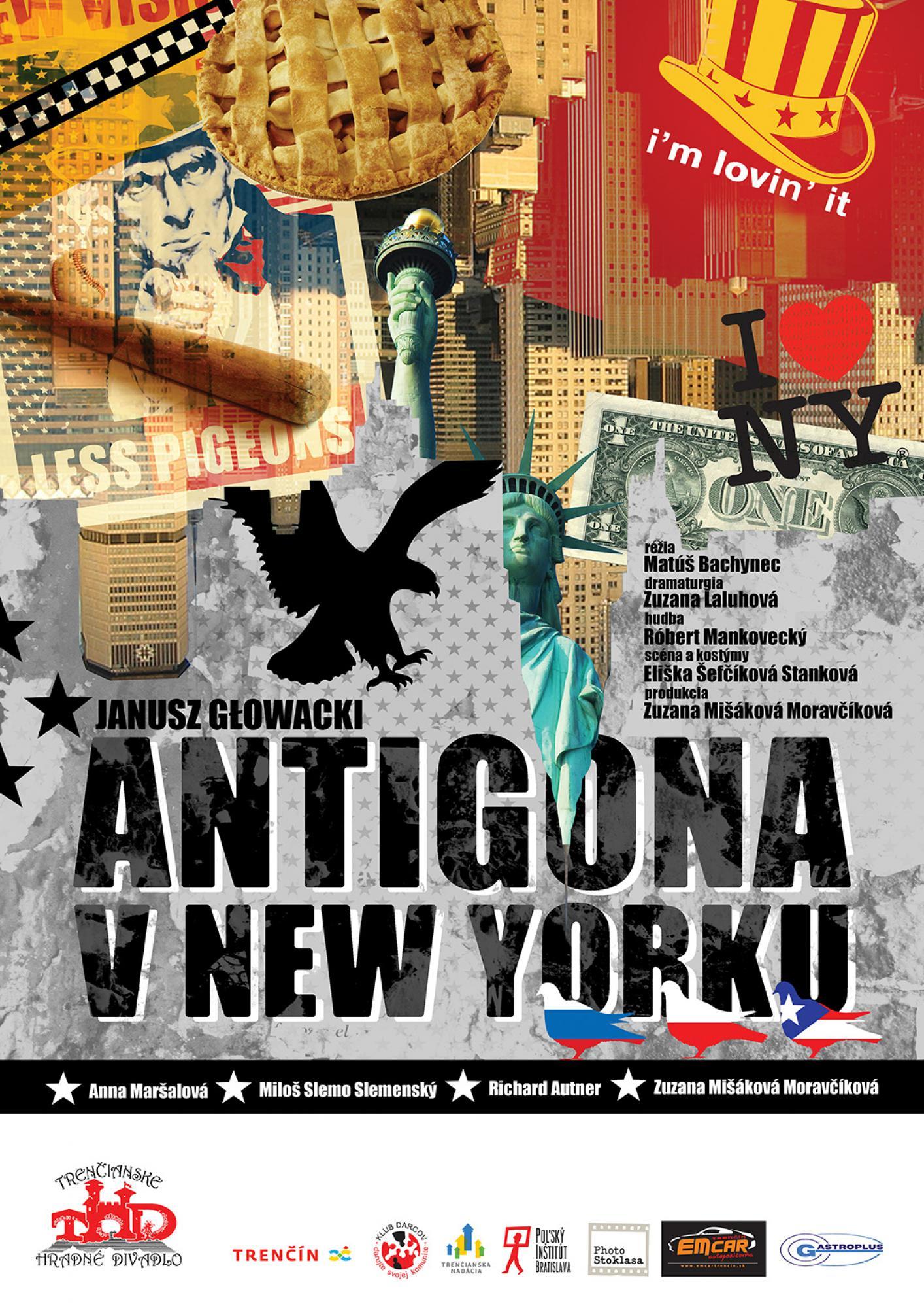 Janusz Glowacki: Antigona v New Yorku