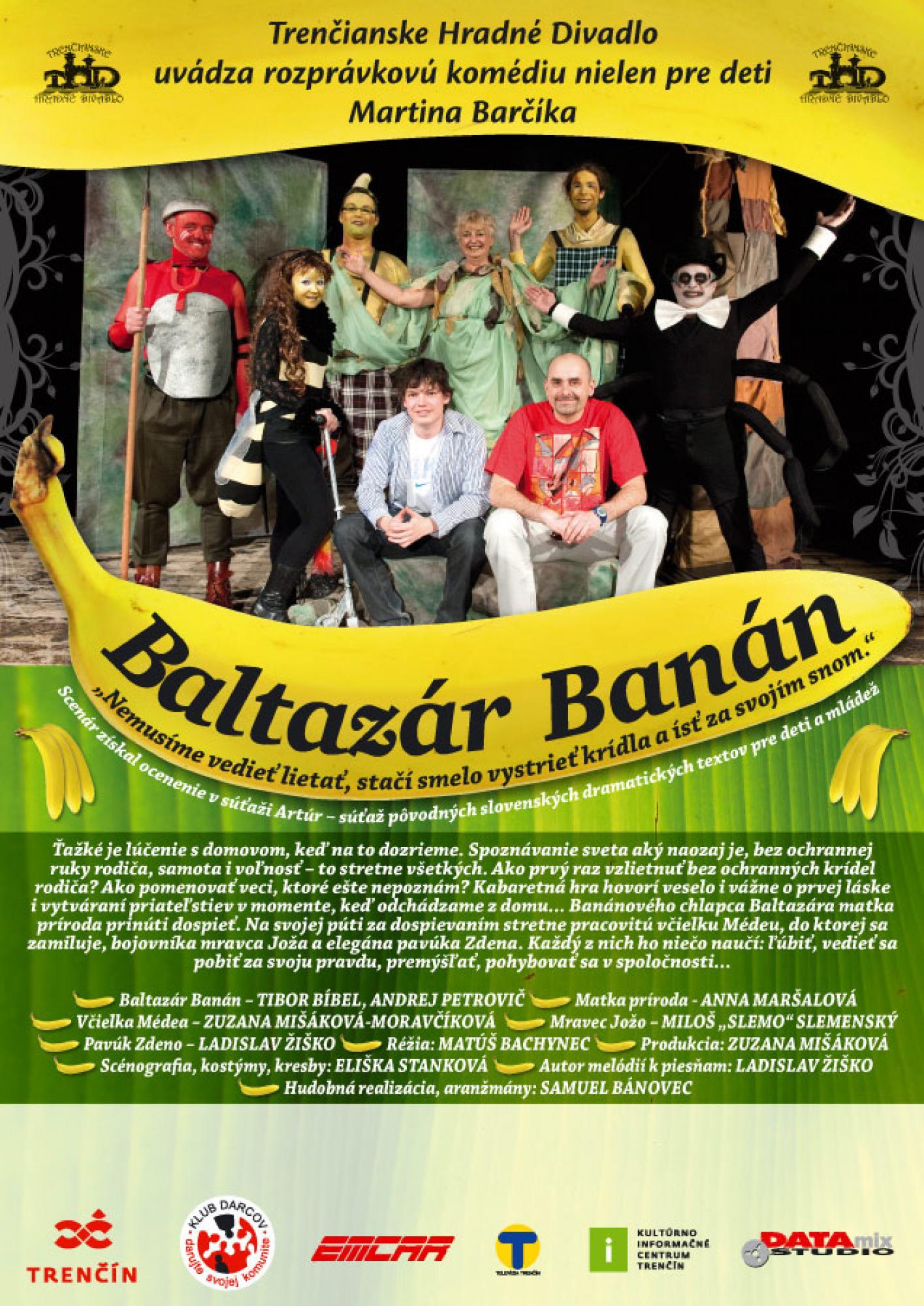 Martin Barčík: Baltazár Banán