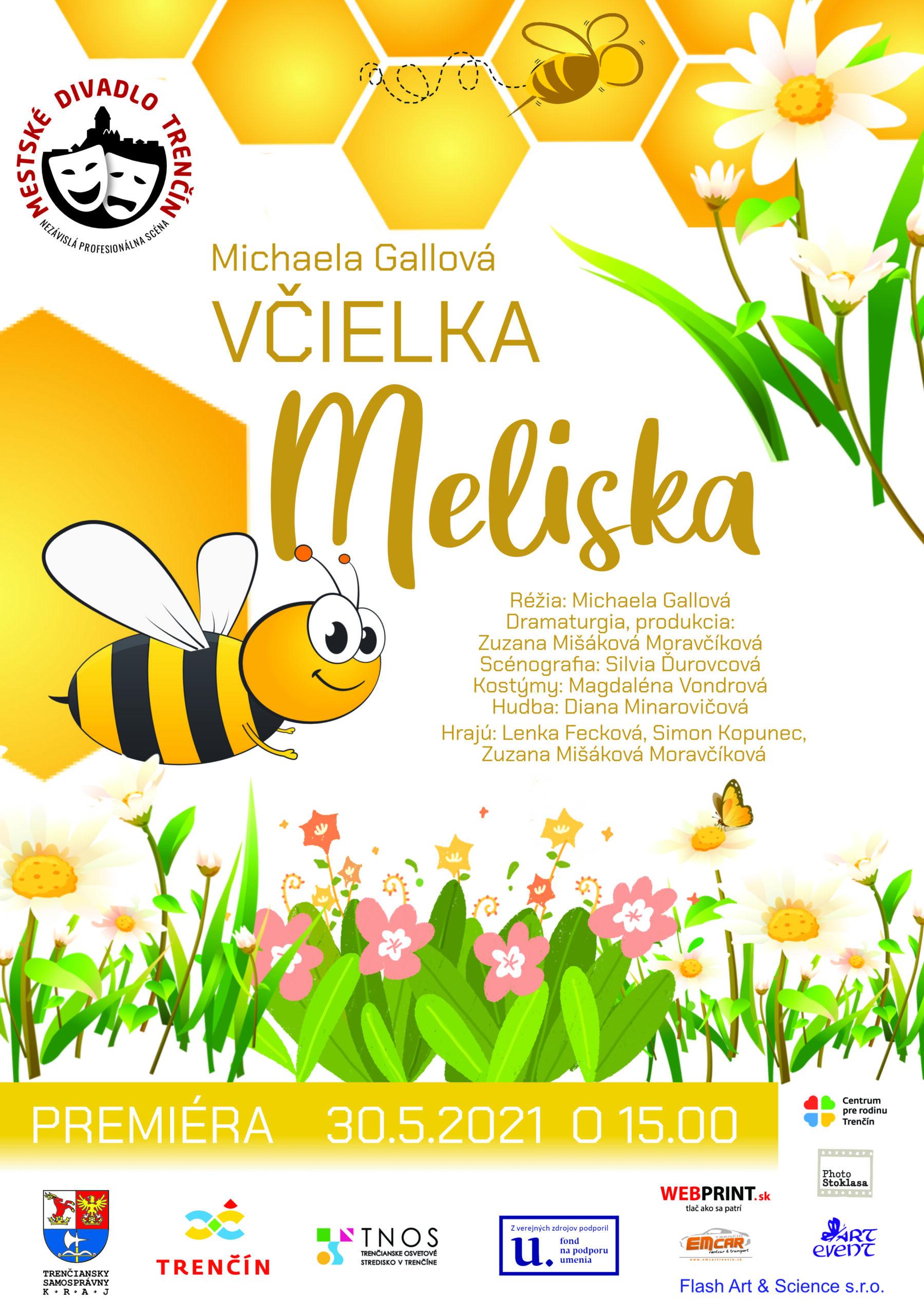 Michaela Gallová: Včielka Meliska